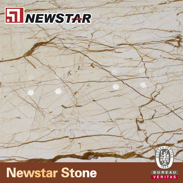 Beige Marble Slab and Tile for Sale