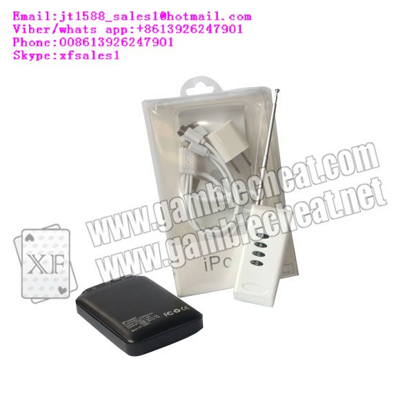 XF apple power bank camera for poker analyzer |marked cards|poker cheat|poker analyzer