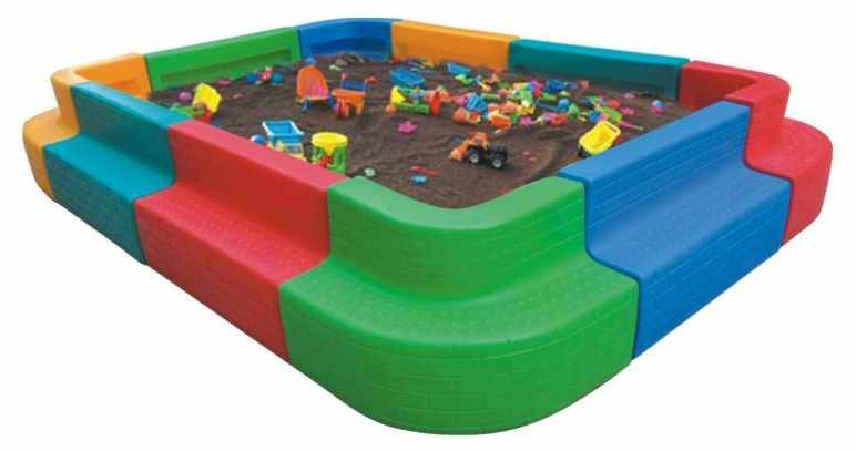 Rectangle Game Sand&ball Pool