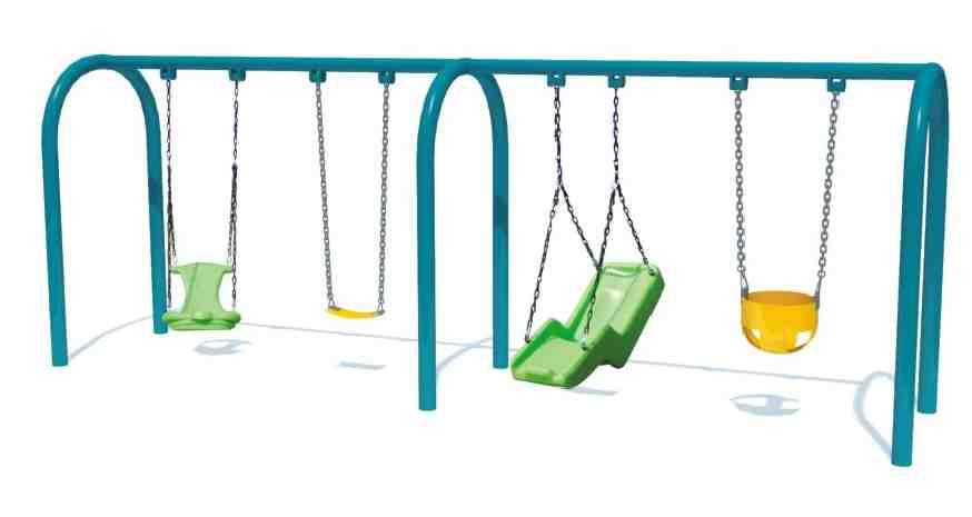 Kids Outdoor Swings Playground