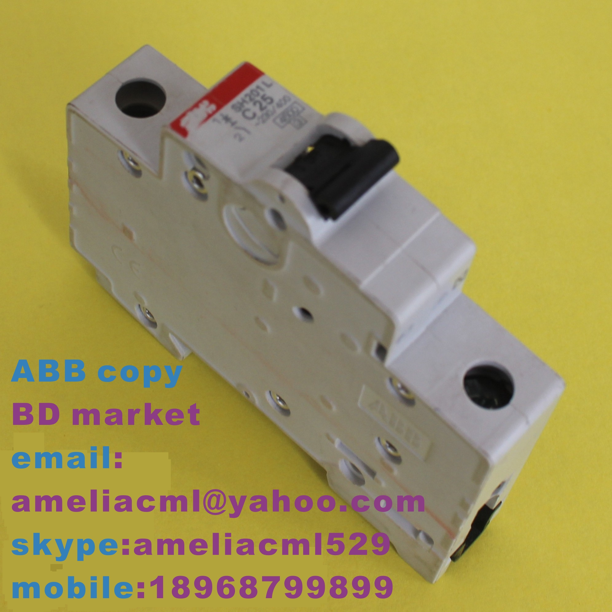 ABB SH201 MINIATURE CIRCUIT BREAKER
