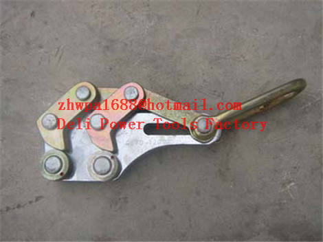 Wire rope grip,Aluminum alloy cable clamp