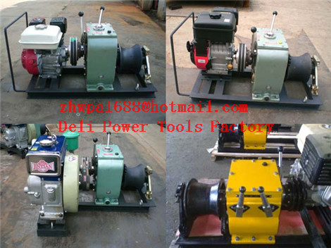 CABLE LAYING MACHINES,Cable bollard winch