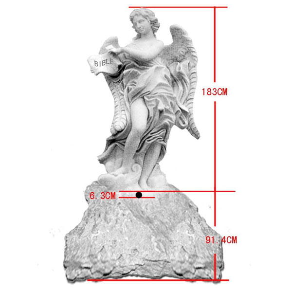China 2015 Hot Selling Decorative Landscape high quality light weight cheap White Marble Stone Landscape stone