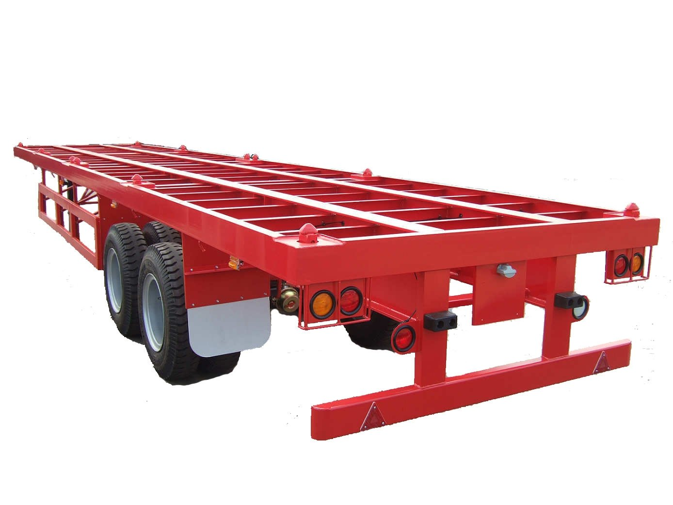 40ft Flatbed Trailer with Two Axles (for Wood Floor)