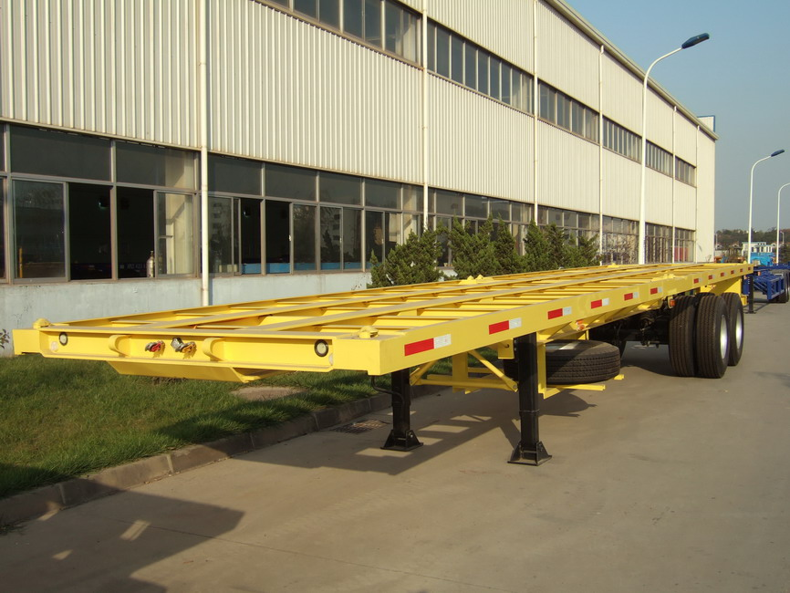 40' Flatbed Semi-Trailer with two Axles CIMC brand