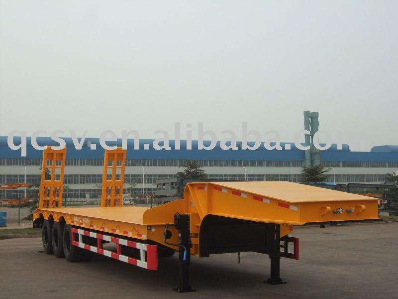 CIMC Low bed Semitrailer