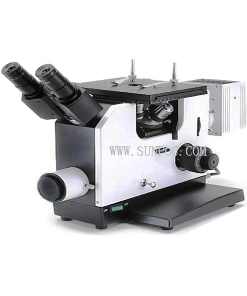 Trinocular Inverted polarized Metallurgic Microscope IMM-60