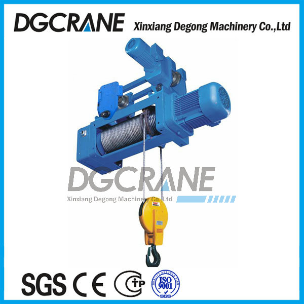Low maintenance crane hoist