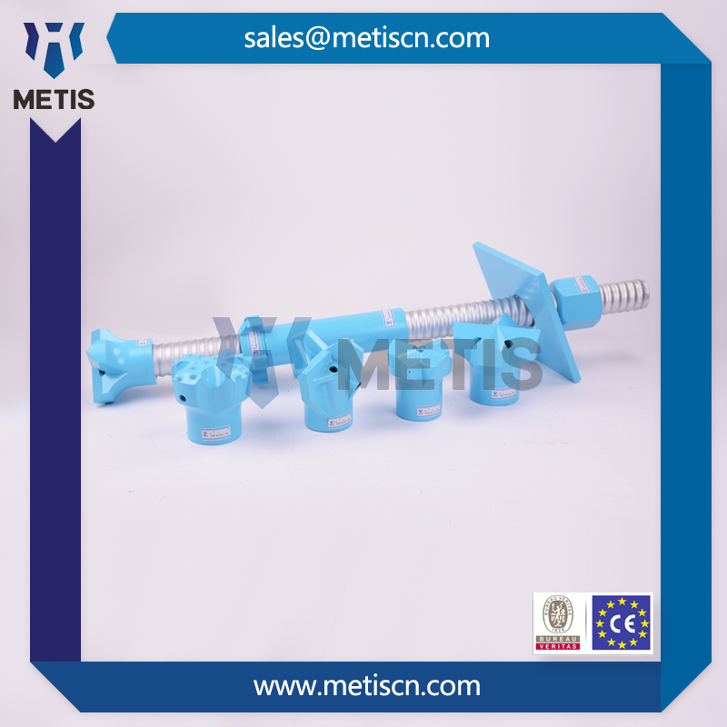 High strength self drilling anchors