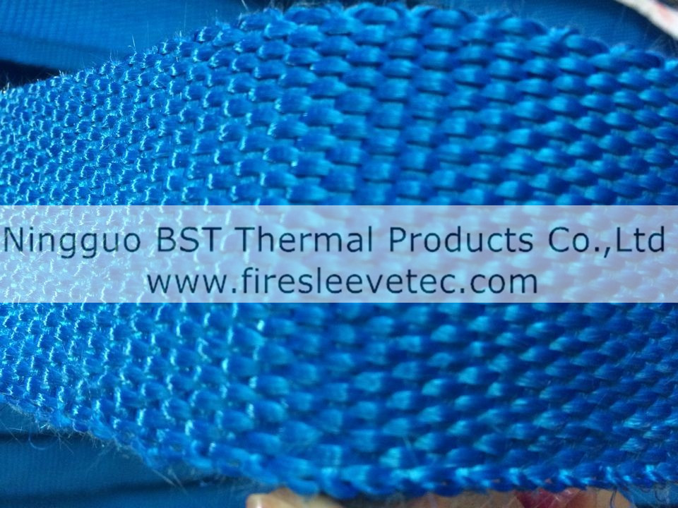 blue exhaust wrap
