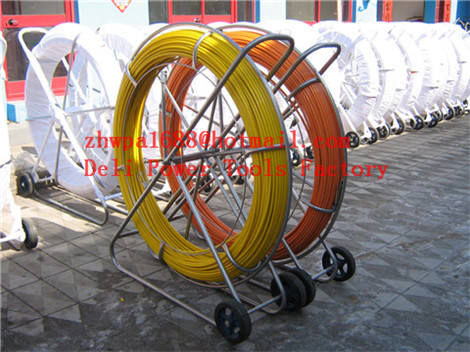 Duct Rodder  Fiberglass duct rodder  Duct rod