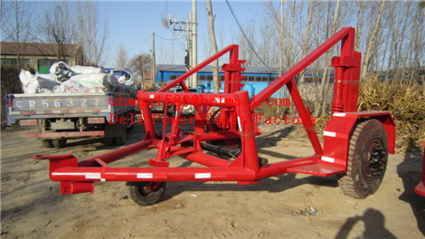 Drum Trailer  Cable Winch  Cable Drum Trailer