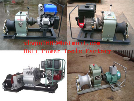 Powered Winches,Cable Winch,ENGINE WINCH