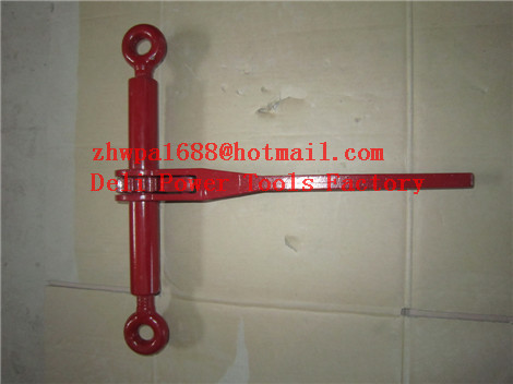 Cable Puller Hand Come Along,Dual Drive Ratchet Cable Puller
