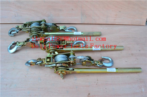 Hand cable puller,wire puller,Ratchet Cable Puller