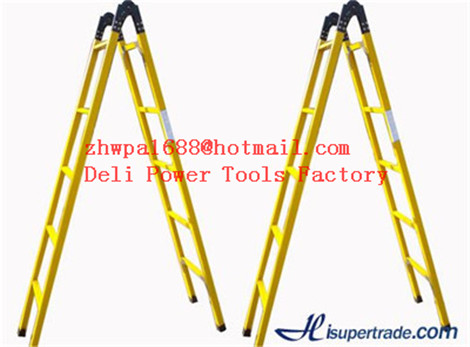 Frp Telescopic and extension ladder,Two-section fiberglass ladders