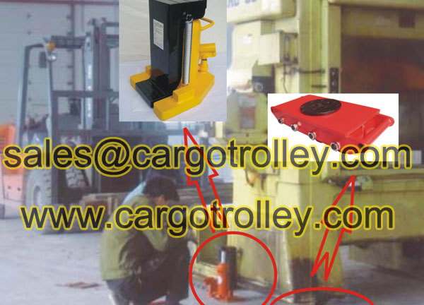 Cargo pallet trolley for Factory Warehouse Transportation