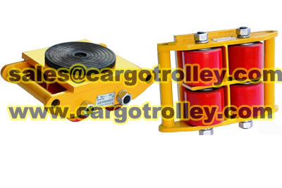 Equipment moving roller skids pictures and price list