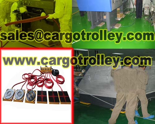 Air rigging systems moving heavy loads easily and safety
