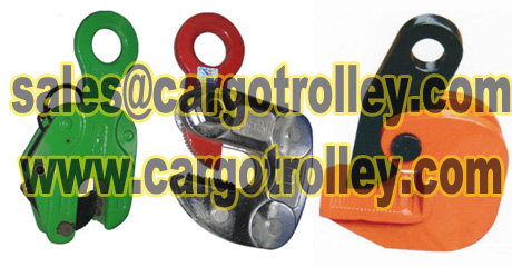 Steel plate lifting clamps with durable quality