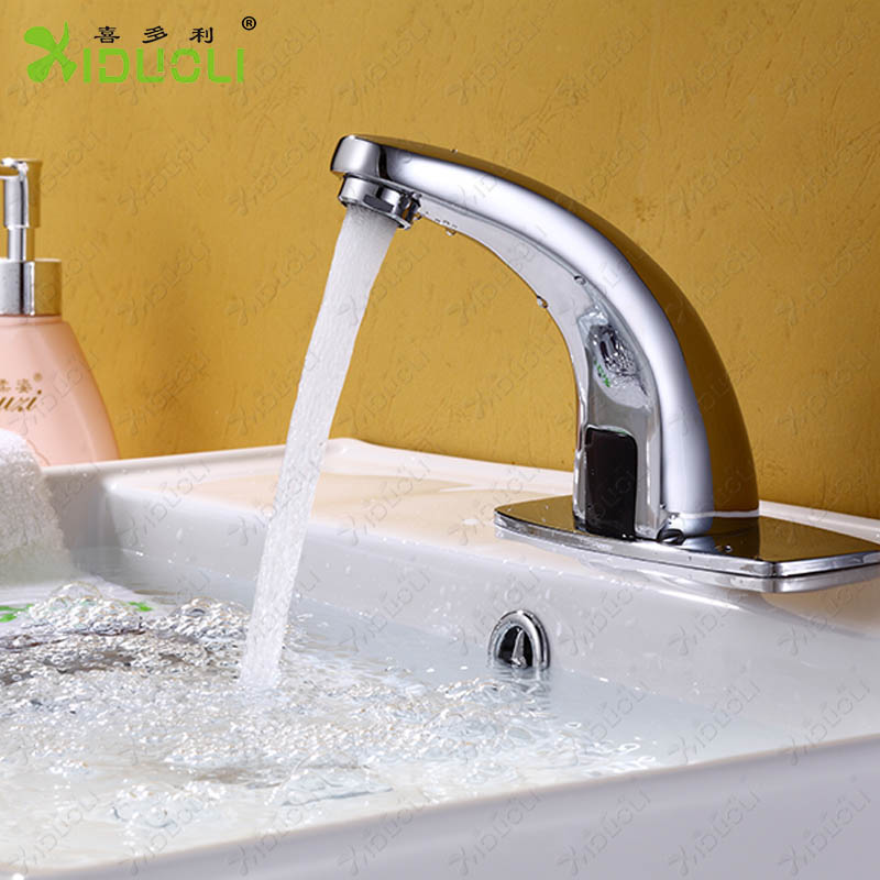 Brass Bathroom Touchless Automatic Sensor Faucet, mixer tap