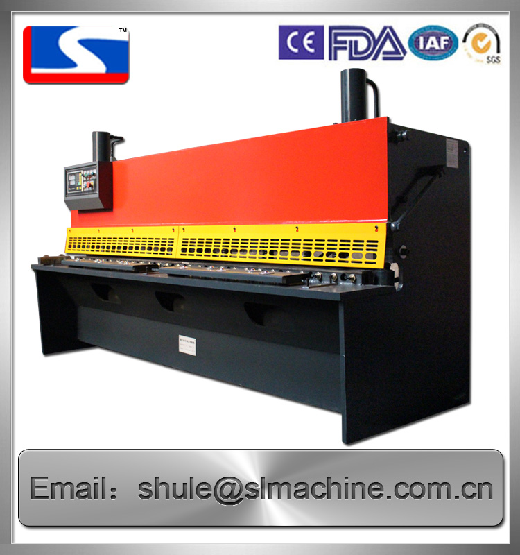 QC11K-series Guillotine shear machine