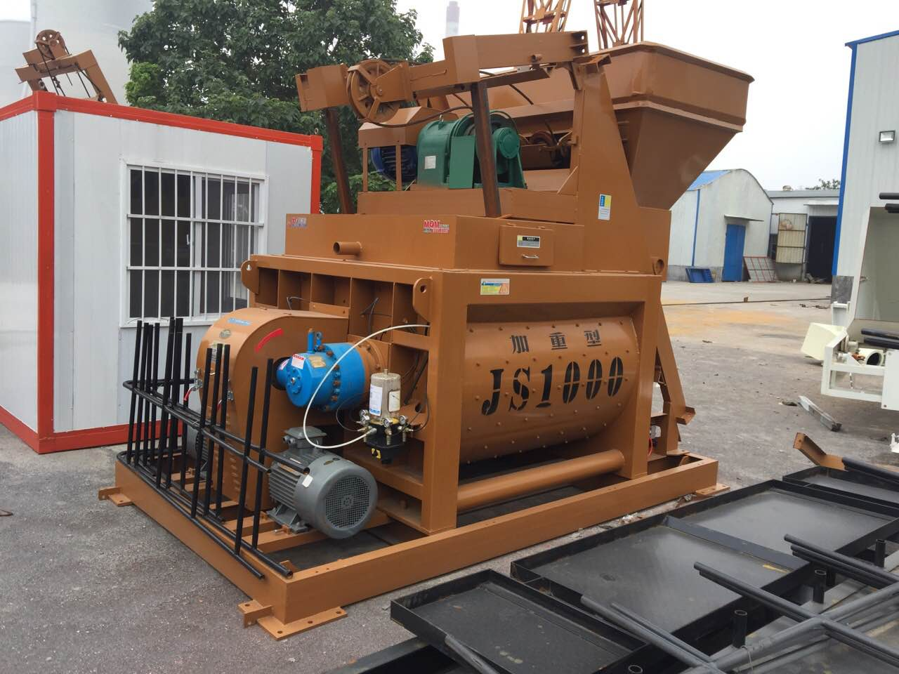 high quantity js1500batching plant