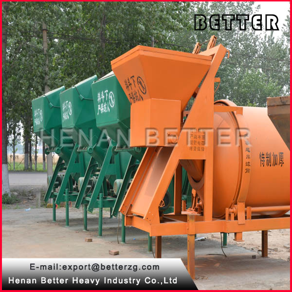 js1000 concrete batching plant