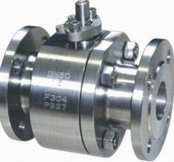 2PC Floating Ball Valve