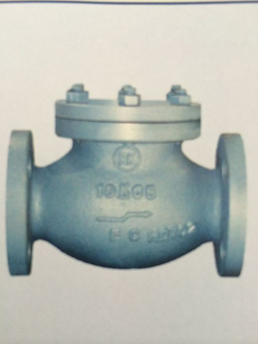 Marine Cast Iron Lift Check Globe Valve JIS F7358 5K