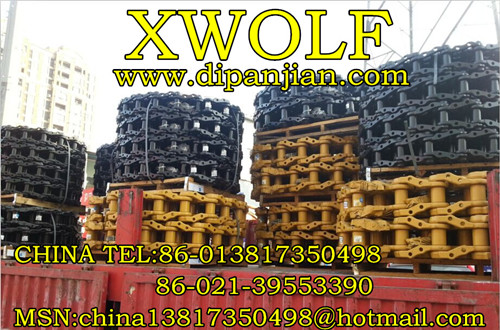 KOBELCO SK200 Track assembly Track Chain