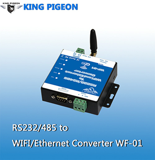 RS232 RS485 to lan to wifi converter RS485 usb to wifi converter WF-01