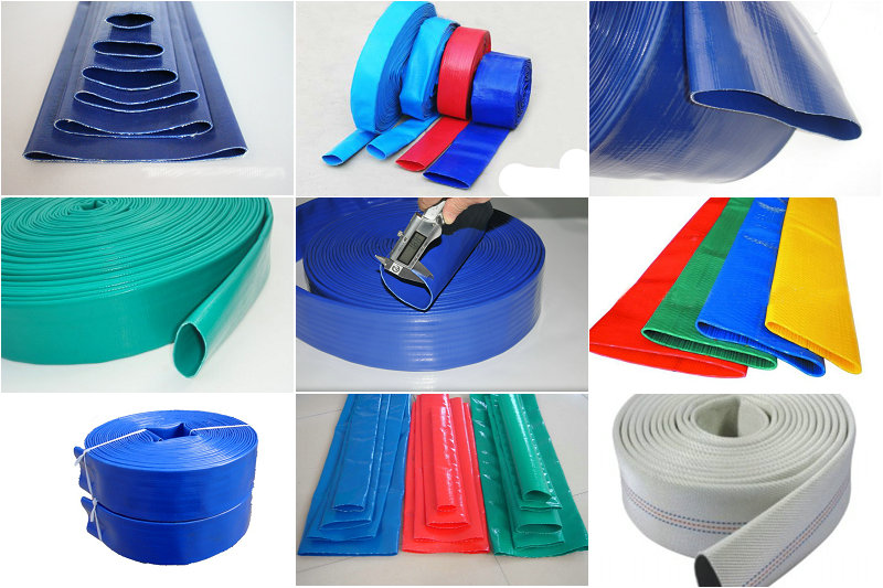 1inch-12inch agriculture irrigation flexible pvc layflat hose