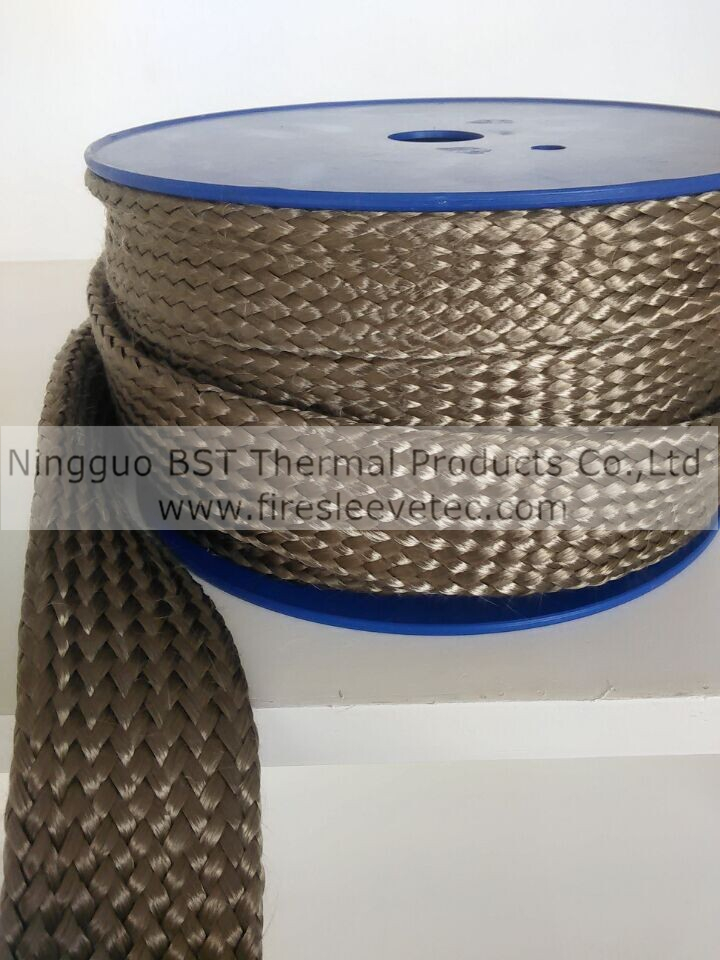 high temperature basalt braided sleeve