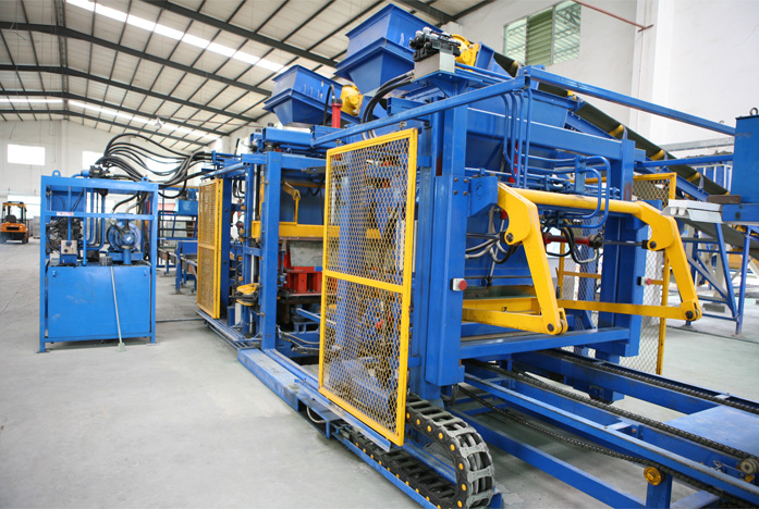 RT9B-L Automatic Concrete Block Production Line