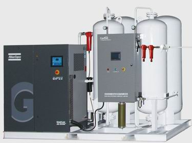 types of filling system CFS Nitrogen Making & Cylinder Filling System