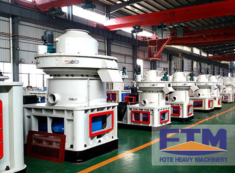 Latest Advanced Ring Die Rice Husk Pellet Mill for Sale