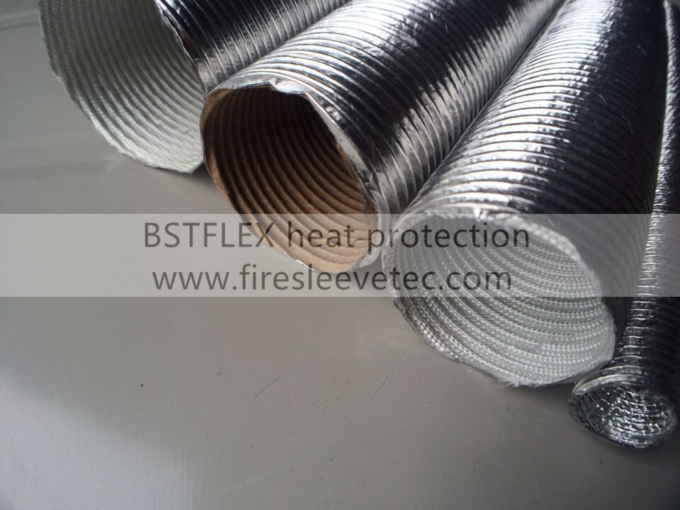 Aluminum Heat Shield Sleeve