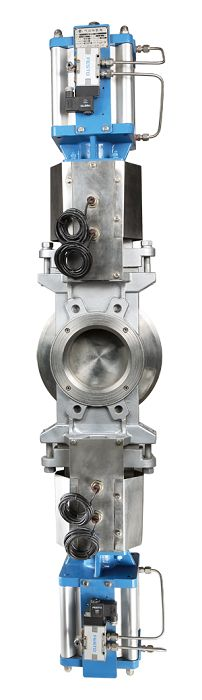 Double Knife Gate Valve