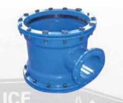 Double Socket tees with flange branch