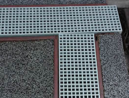 FRP Grating Trench Cover