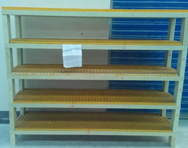 FRP Grating Shelves