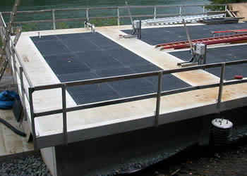 FRP Grating Water Treatment