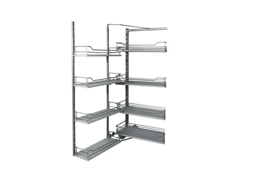 MDF Tandem Pantry Unit -4 Tier for 450mm cabinet