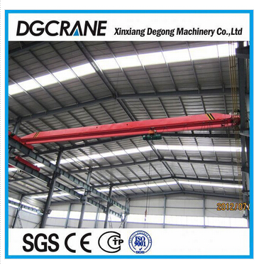 5 ton single girder bridge crane hoist