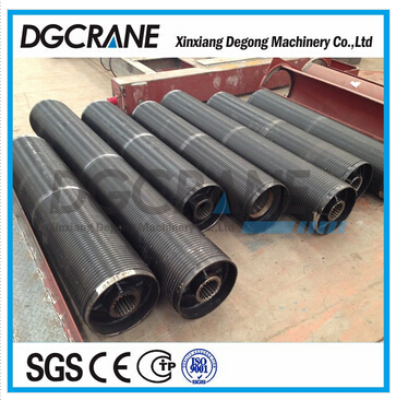 High quality rope drum for crane use