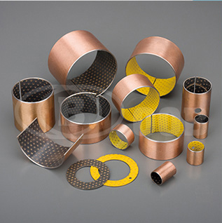 OOB-20 Marginal Bearings Steel+Bronze Powder+PTFE Layer