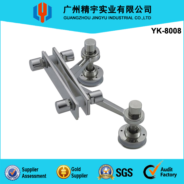 High Quality AISI 304 Stainless Steel Glass Wall Spider YK-8008