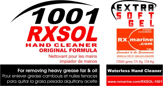 Waterless Hand Cleaner (RXSOL)